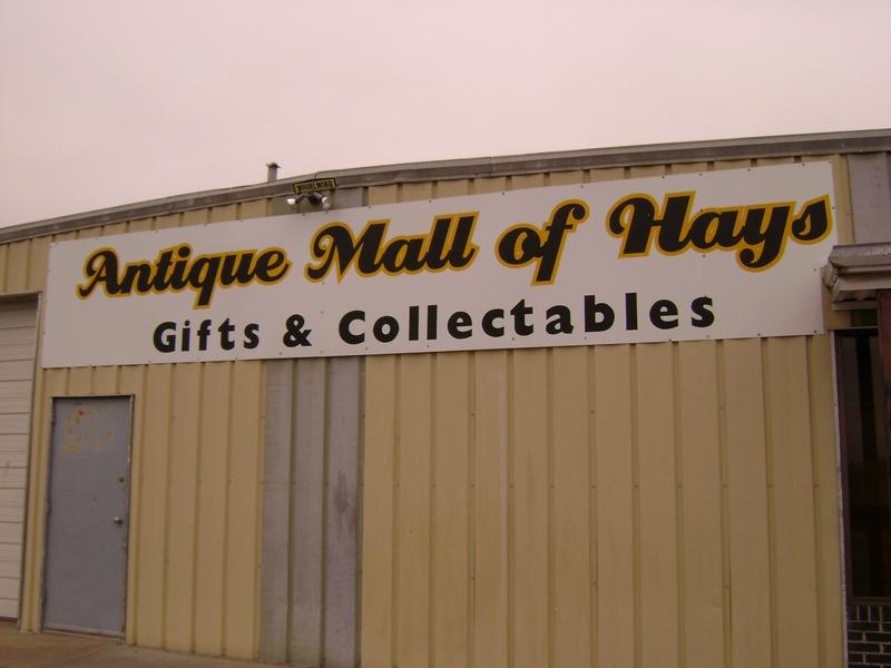 Antique Mall of Hays, 201 W. 41st. St., P.O. box 979, Hays, Ks., 67601, United States